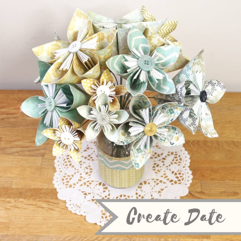 Create Date Kusudama Blossoms copyright Create Some Time and Hooky Buddies May 2019