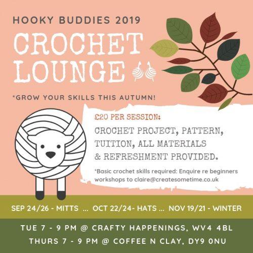 Hooky Buddies Crochet Lounge