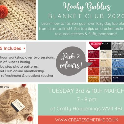 Hooky Buddies Blanket Club Crochet Workshop West Midlands