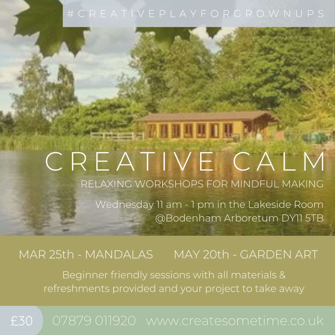 Create Date : Mindful Mandalas Creative Workshops for Mindful Making with Create Some Time
